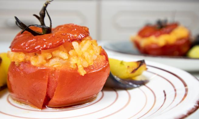 tomatoes-stuffed-rice-recipe-italianrecipe-food-foodblog-foodblogger